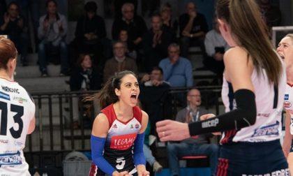 Olimpia e Zanetti, Bergamo sorride (ma che fatica per le ragazze!)