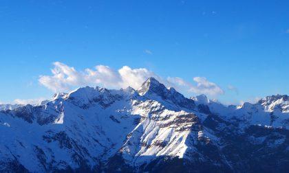 Sulle fresche nevi del monte Timogno