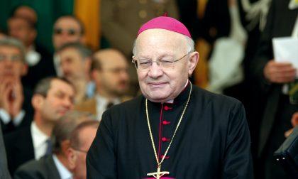 Vescovo Amadei e il suo segretario Praticamente come padre e figlio