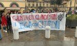 A Stezzano i giovani della Lega in piazza contro l'Amministrazione