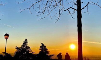 A ogni stagione il suo tramonto (sulle Mura) - Vale Ravasio