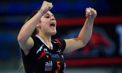 Nicole Pulcini, orgoglio bergamasco nella pallavolo che conta d'Europa