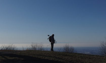 In cima al Canto Alto, la montagna dietro casa di tutti noi bergamaschi