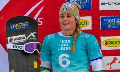 Michela Moioli vince ancora: assolo della campionessa olimpica a Big White