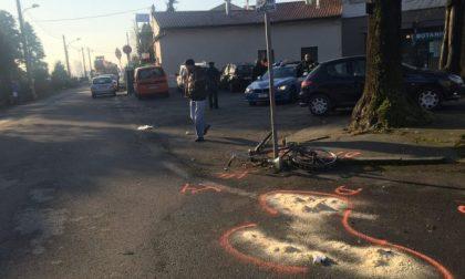 Morta la donna di 83 anni investita mentre era in sella alla sua bici ad Arcene