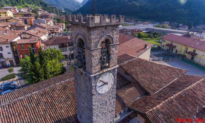 Cento anni… di corsa: la parrocchia di Colzate festeggia con Vescovo e staffetta