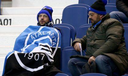 Il gelo è calato sul Gewiss Stadium. Atalanta-Spal 1-2, le foto dei tifosi presenti allo stadio
