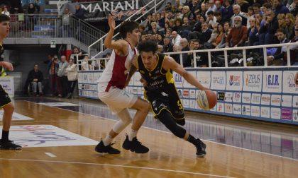 La Bergamo Basket butta un'occasione a Rieti e coach Calvani striglia i suoi