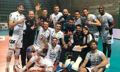 Serata magica per l'Olimpia, 3-0 a Castellana Grotte e semifinale di Coppa conquistata