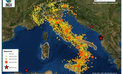 Nel 2019 in Italia c'è stato un terremoto ogni 30 minuti. A Bergamo nessuno