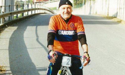 Gandino piange Mario Colombi, una vita passata sui pedali