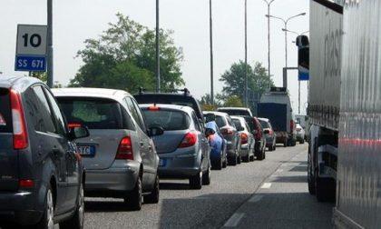 Incidente sull'Asse, traffico in tilt per chi viaggia da Bergamo verso Lovere