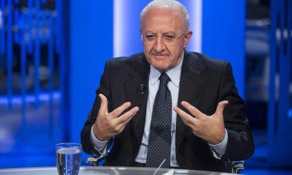 """Vincenzo De Luca punzecchia Matteo Salvini """"sfruttando""""… Bergamo"""