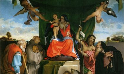 Riaperta la stupenda chiesetta di San Bernardino in Pignolo (c'è il capolavoro del Lotto)