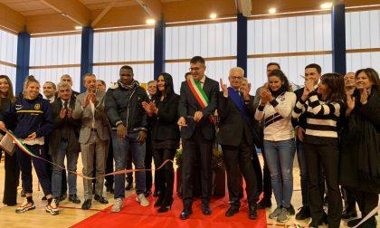 La grande festa a Orio al Serio per il nuovo palazzetto dello sport da 4,9 milioni