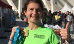Luisa, che per il suo 50esimo compleanno si è regalata una maratona