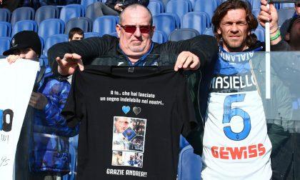 Le foto dei tifosi allo stadio per Atalanta-Genoa 2-2. E quell'abbraccio a Masiello