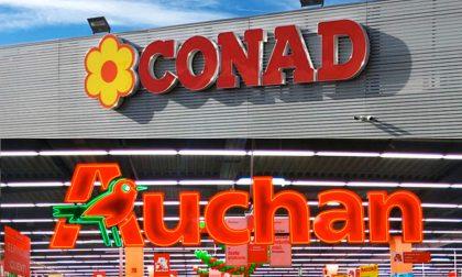 L'ex Auchan di via Carducci cambia volto: nasce il Conad Superstore