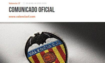 Valencia-Atalanta, sempre più a rischio la trasferta: il club spagnolo attua misure restrittive