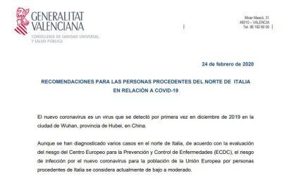 Coronavirus, il Valencia consiglia ai tifosi venuti in Italia di stare tranquilli (capito?)