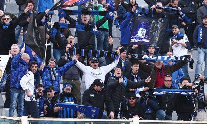 Le foto dei tifosi a Firenze per Fiorentina-Atalanta 1-2 (eravamo pochi ma buoni)