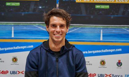 Sorrisi azzurri agli Internazionali di Tennis di Bergamo (anche nel giorno dell'Atalanta)