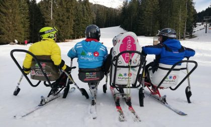 Altro che invalidi: sulle nevi del Passo della Presolana si cercano campioni