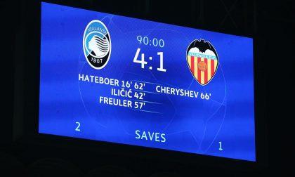 Ottavi di Champions League, finita l'andata: delle italiane vince solo la Dea