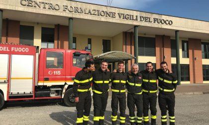 Vigili del Fuoco, al distaccamento di Gazzaniga il benvenuto a cinque nuovi volontari