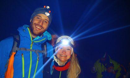 Scoprire la Val di Scalve, ma di sera e sulle ciaspole. Poi, ovviamente, tutti a mangiare