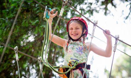 Parco avventura di Torre Boldone, comincia la stagione 2020