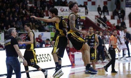 Orgoglio BB14: con una grande difesa Bergamo batte Trapani in trasferta 72-78