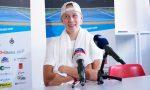 Telecamere e curiosità agli Internazionali di Tennis di Bergamo: ha giocato il figlio di Borg
