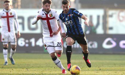 L'Atalanta paga cara la sua imprecisione: con il Genoa riusciti solo 8 passaggi su 10