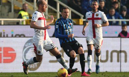 Atalanta, così non si vola: con il Genoa finisce 2-2