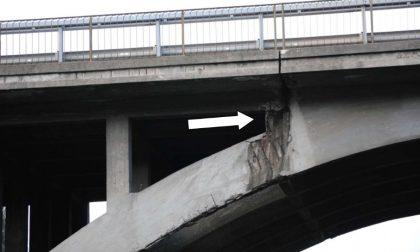 Il cavalcavia della Briantea a Ponte San Pietro è messo davvero male, ma nessuno fa niente