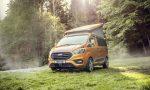 All'Iperauto Fordstore Bluberg di Bergamo, in anteprima, il camper Transit Custom Nugget