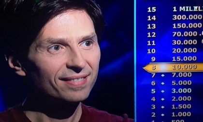 """Dentista bergamasco tenta la scalata a """"Chi vuol essere milionario?"""""""