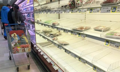 Supermercati, effetto Coronavirus: a Bergamo e provincia +106,2% rispetto a un anno prima