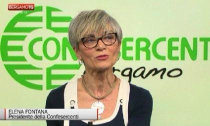 È morta dopo una lunga malattia Elena Fontana, presidente di Confesercenti Bergamo