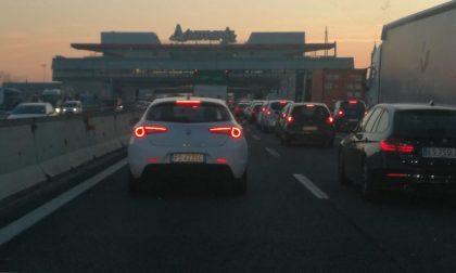 Incidenti sulla A4 e in Tangenziale Est: almeno due ore di coda per arrivare a San Siro