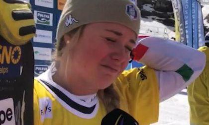 Il video di Michela Moioli dopo la vittoria: «È per Bergamo, per Alzano. Forza ragazzi»