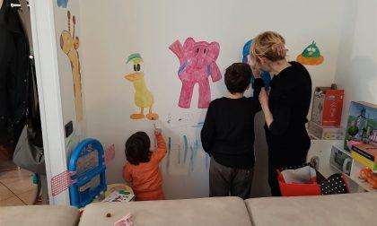 Aido Grassobbio pensa agli scolari a casa: ecco il calendario d'artista, da colorare