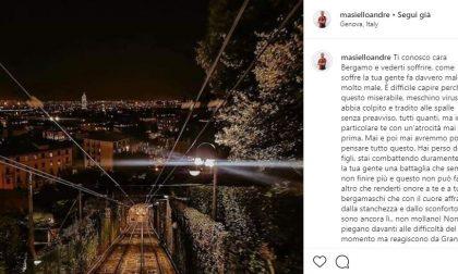 Il dolore di Masiello: «Cara Bergamo, vederti soffrire fa davvero male»