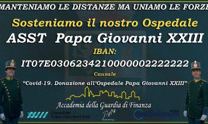 L'Accademia della Guardia di Finanza promuove una raccolta fondi per il Papa Giovanni