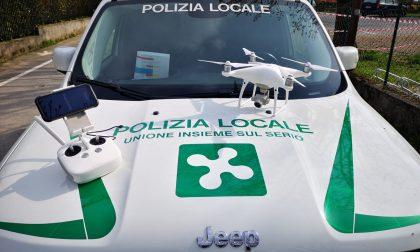 Droni sopra Nembro e Pradalunga per stanare gli assembramenti di persone