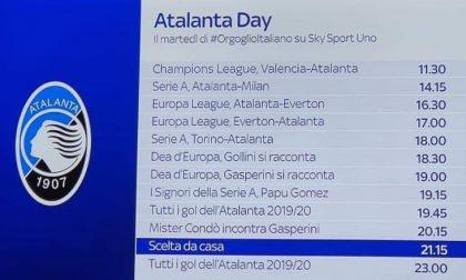 Oggi è l'Atalanta Day su Sky Sport Uno: dodici ore di #OrgoglioItaliano