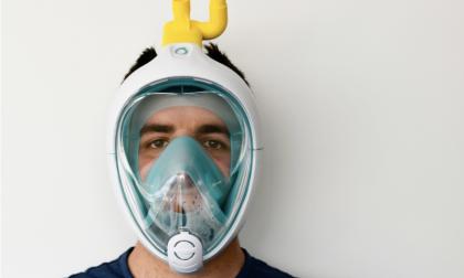 Maschera da snorkeling si trasforma in dispositivo respiratorio di emergenza