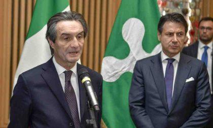 Fontana chiede a Conte «più flessibilità sul debito per le Regioni per incrementare le risorse»