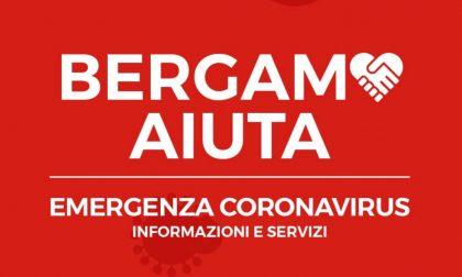 Nasce il portale BergamoAiuta con tutte le informazioni utili per affrontare la quarantena